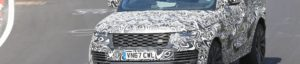 See the camouflaged Range Rover SV Coupe at the Nurburgring