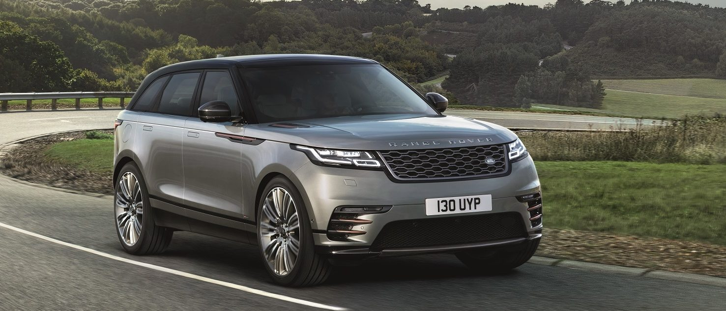 The beautiful Range Rover Velar