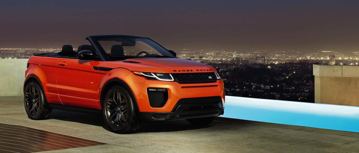 The Range Rover Evoque Convertible