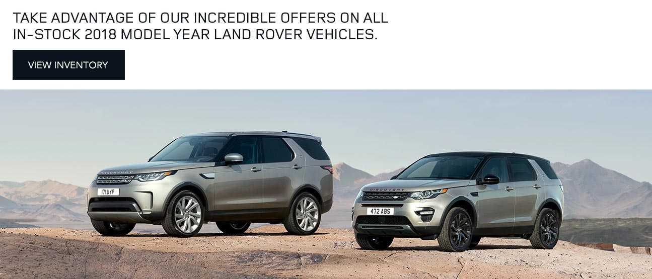 Land Rover Thornhill 2018 Model Offer Mobile Version